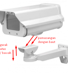 Bracket Housing Outdoor Camera CCTV, Bracket camera cctv, bracket cctv outdoor