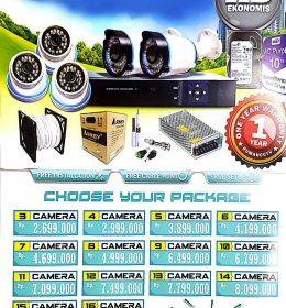 paket 3 kamera, paket kamera cctv murah, paket cctv murah